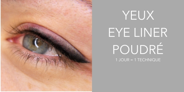 Perf. Yeux Eye-liner Poudré @ SUBLILINE ACADEMY